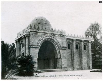 CHARLES GARNIER, EXPO UN 1889 -CASA PERSA