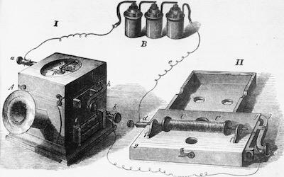 El telefon de Johann Philipp Reis